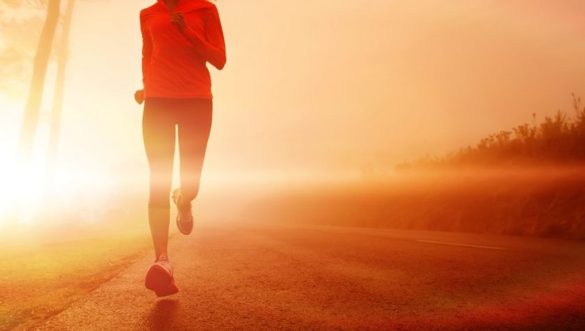 Bieganie przed snem